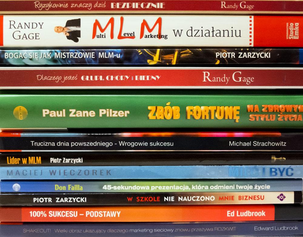 książki o MLM