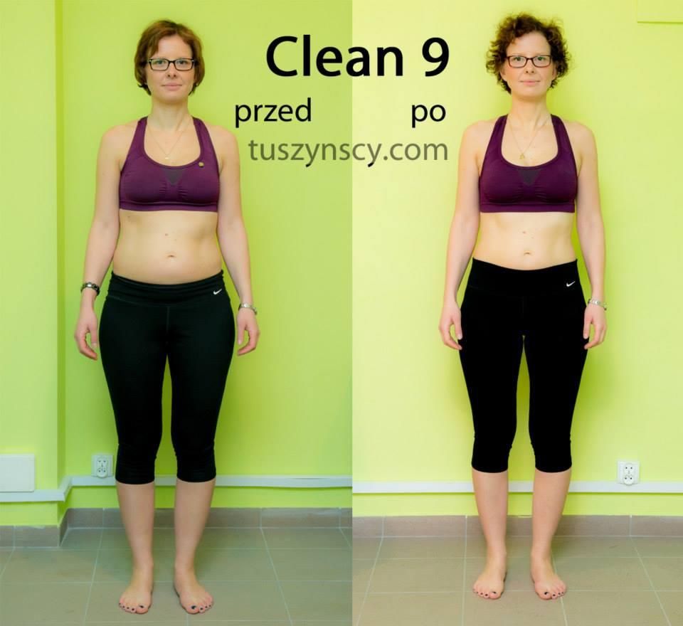 clean9 przed i po przód