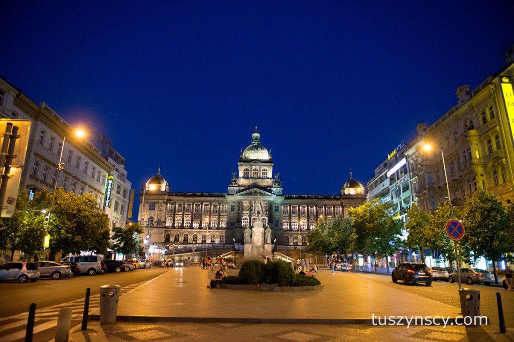 Praga - Plac Wacława