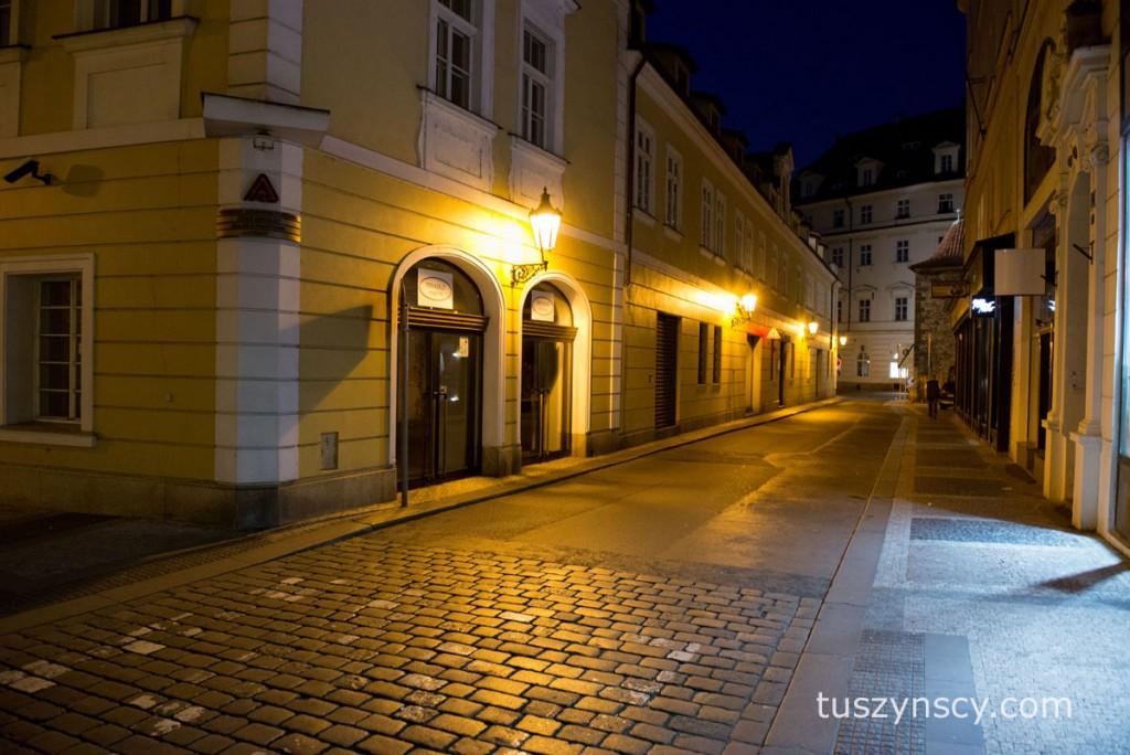 Praga - wieczorny spacer