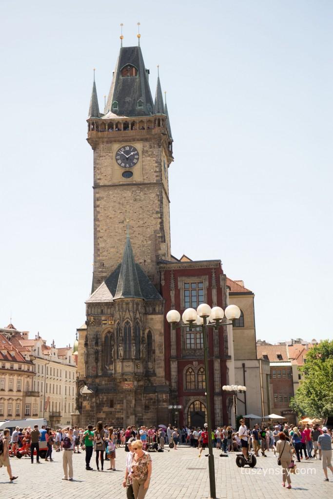 Praga - ratusz