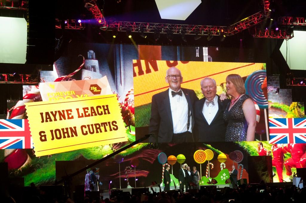 Jayne Leach i John Curtis