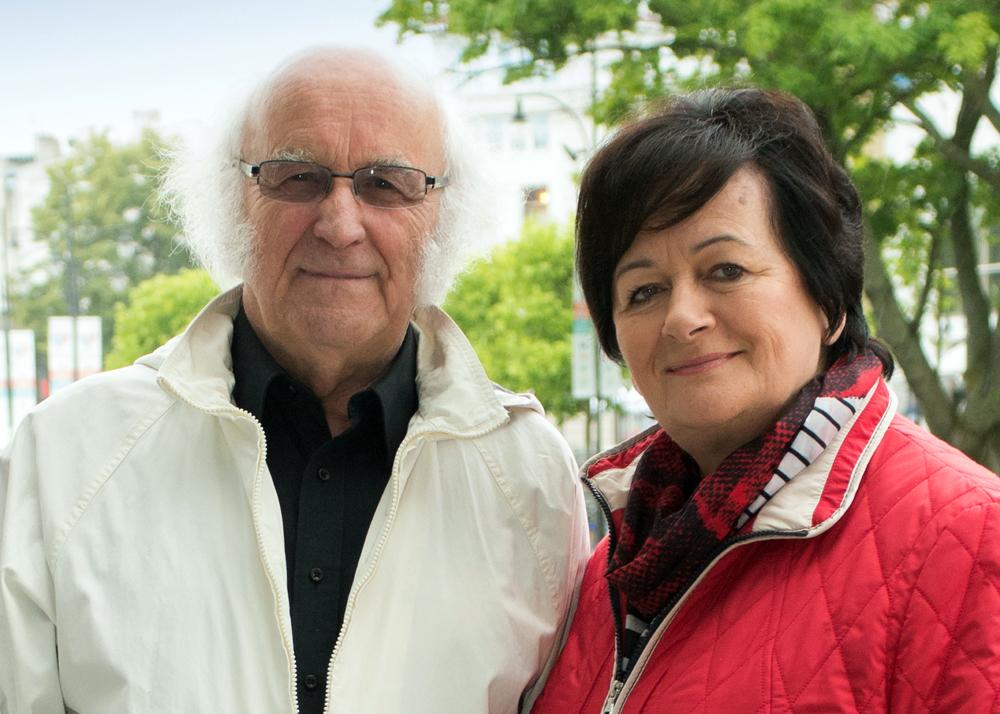 Bogumiła i Jan Sroka