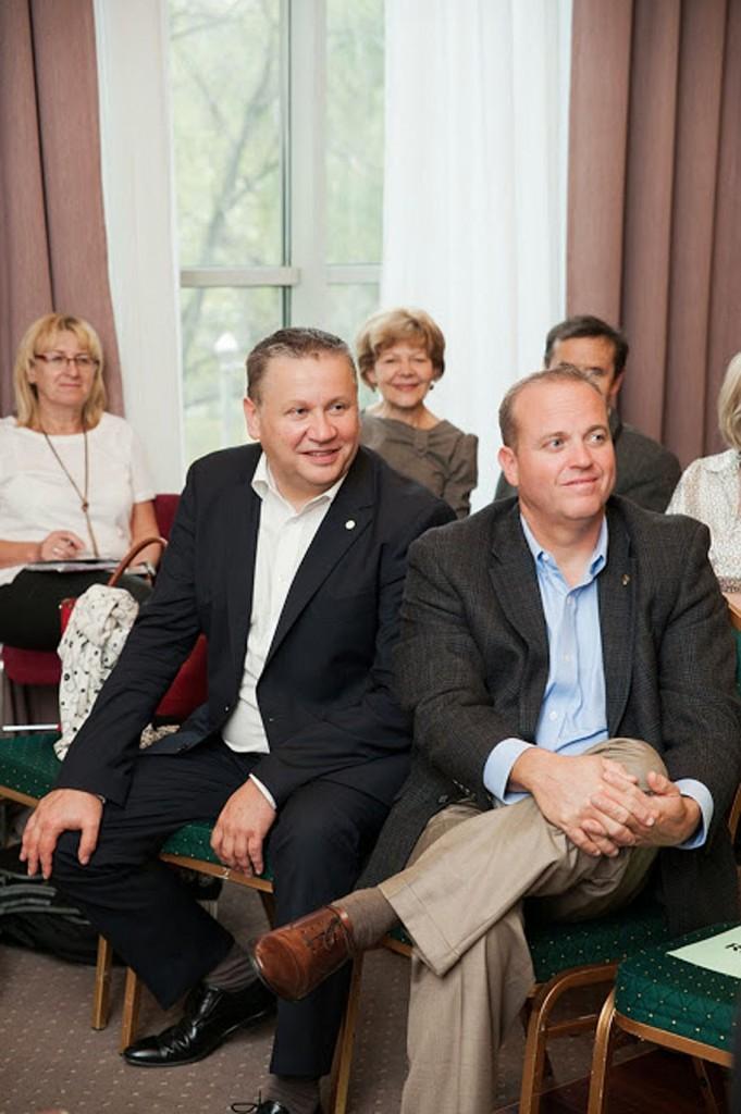 Gregg Maughan i Aidan OHare w Warszawie