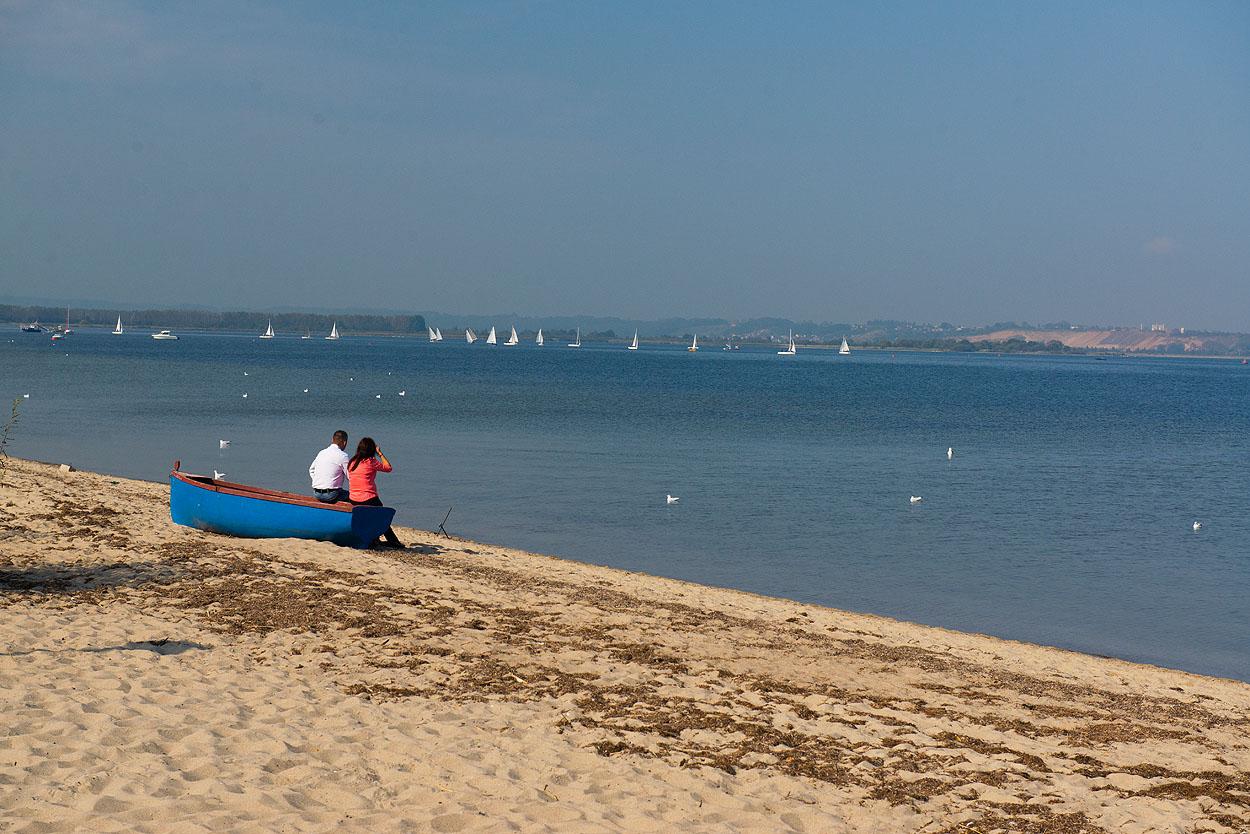 Rewa, morze, plaża w Rewie, willa Romantyka