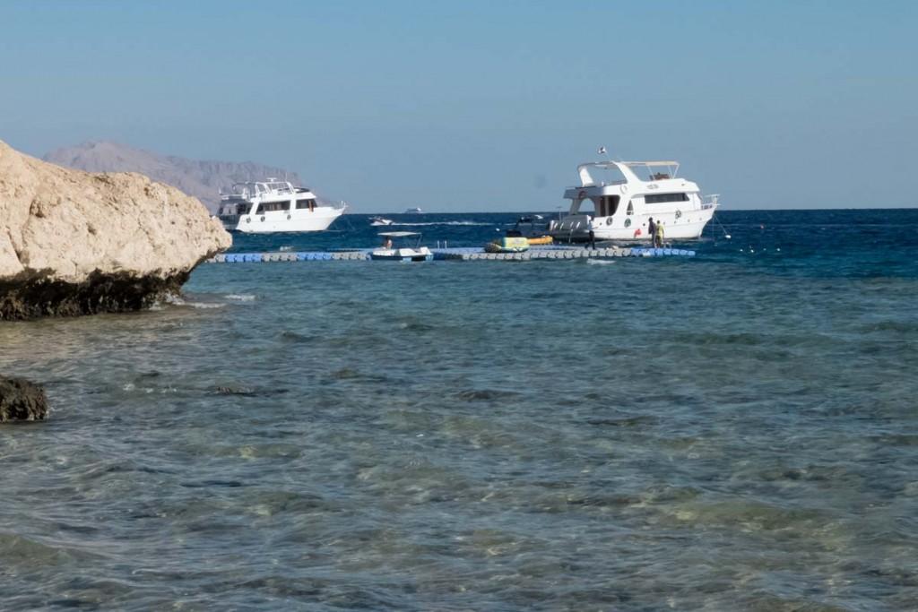 plaża hotelowa The Three Corners Palmyra Resort w Sharm-El-Sheikh