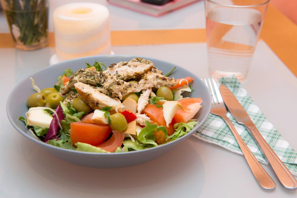 clean9 przykładowy posiłek