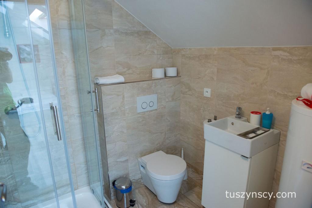 nocleg w Pradze - łazienka