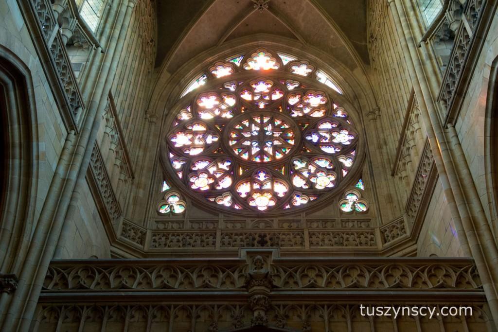 Praga - katedra na Hradczanach