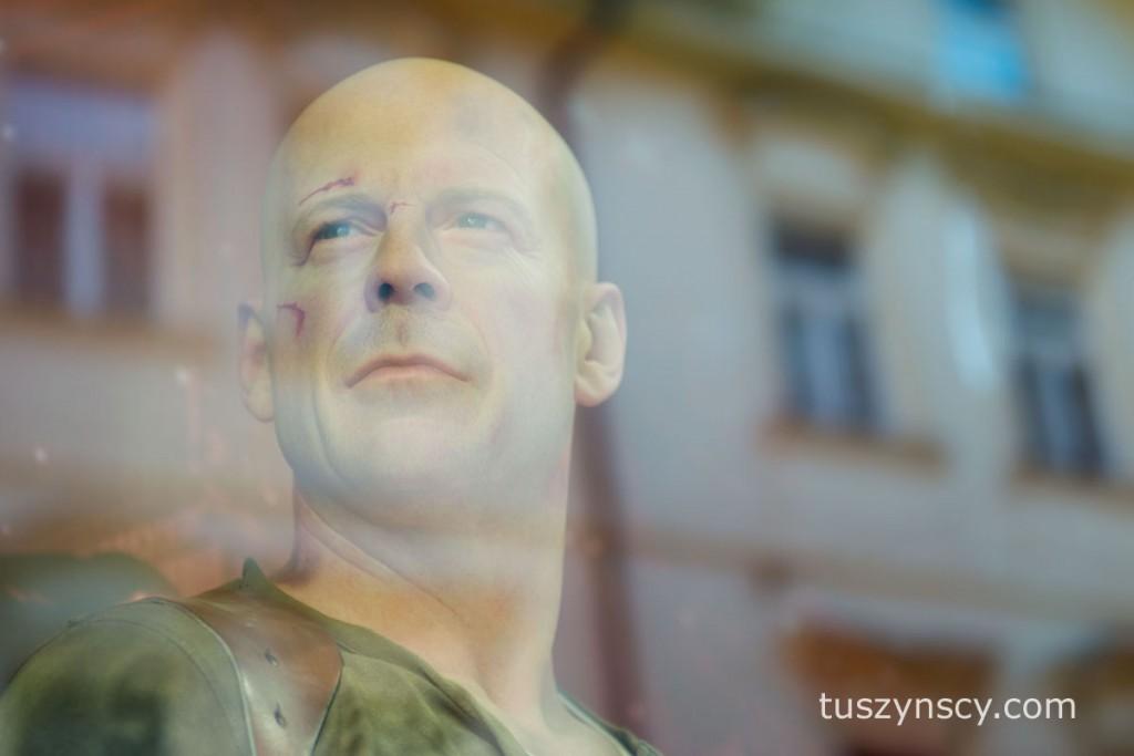 Praga - muzeum figur woskowych -Bruce Willis